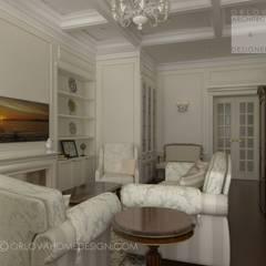 Квартира в Санкт-Петербурге: Гостиная в . Автор – Orlova Home Design,