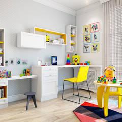 Скандинавская эклектика: Детские комнаты в . Автор – CO:interior