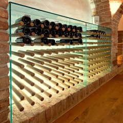 Bodegas de vino de estilo  por Jahn Gewölbebau GmbH