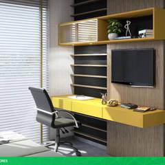 Casa 1001: Quartos  por studio vtx,Moderno