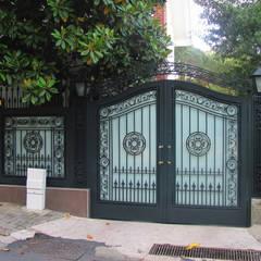 Teknik Metal Ferforje – Ferforje Bahçe Kapıları:  tarz Bahçe