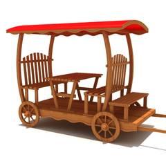 keban çocuk oyun parkları san tic – kamelya: endüstriyel tarz tarz Bahçe