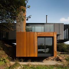 Casas de estilo  de Patrick Bradley Architects