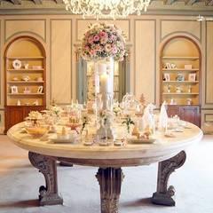 A linda mesa da Princessa Sofia no Palácio do Sobralinho.: Locais de eventos  por Lima Limão-  Festas com charme