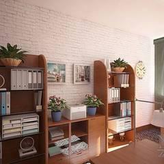 Офисное пространство. Приемная и кабинет руководителя.: Рабочие кабинеты в . Автор – Юлия Паршихина,