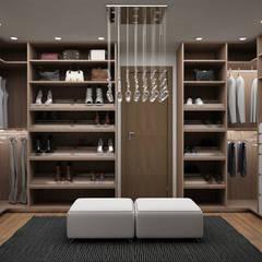 Dressing room by Citlali Villarreal Interiorismo & Diseño