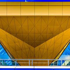 Новый терминал аэропорта Пулково: Аэропорты и морские порты в . Автор – Belimov-Gushchin Andrey,