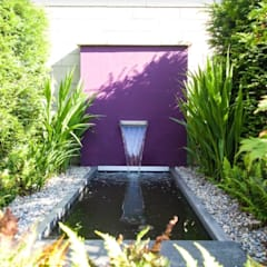 สวน โดย Ecologic City Garden - Paul Marie Creation, โมเดิร์น