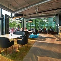 Gestalten Pavilion – Gastronomie:  Geschäftsräume & Stores von Lena Klanten Architektin