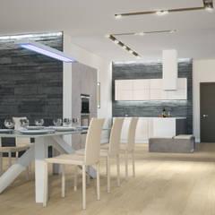 Квартира в жилом комплексе AQUAMARINE: Столовые комнаты в . Автор – Center of interior design