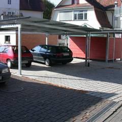 Neubau Wohn-und Geschäftshaus:  Autohäuser von Freier Architekt Herbert FRANZ