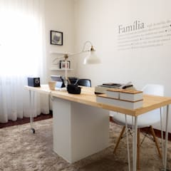 Study/office by MUDA Home Design