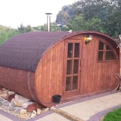Sauna ogrodowa: styl , w kategorii Ogród zaprojektowany przez Lifepolska Iwona Olejnik,