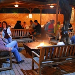 OLYMPOS ORANGE BUNGALOWS – CAMP FIRE:  tarz Bahçe