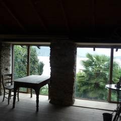 Rustico Morandi, Baveno-Italien: landhausstil Arbeitszimmer von carpaneto.schöningh architekten