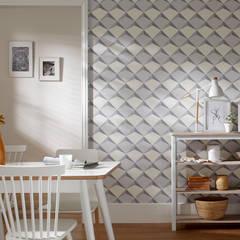 Moderne muren & vloeren van Disbar Papeles Pintados Modern