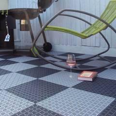 Bergo Briq tiles:  Terrace by Ecotile Flooring