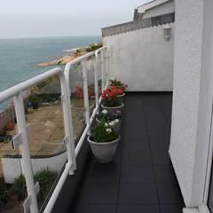 Bergo Elite tiles:  Terrace by Ecotile Flooring