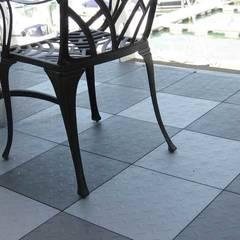 Bergo Nova tiles:  Terrace by Ecotile Flooring