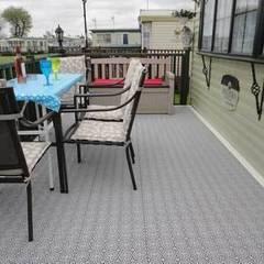 Bergo XL tiles:  Terrace by Ecotile Flooring