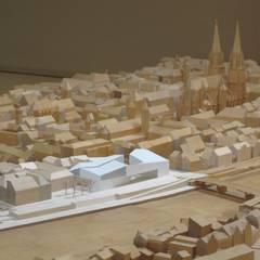 Modellfoto Museum der Bayerischen Geschichte Regensburg:  Museen von wörner traxler richter planungsgesellschaft mbh