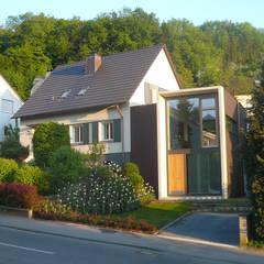 Neu und Alt:  Häuser von wilhelm und hovenbitzer und partner