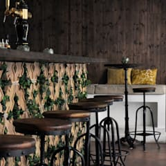Bar en briques italiennes: Bars & clubs de style  par FØLSOM