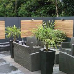 Jardines de estilo  por Deck-linéa
