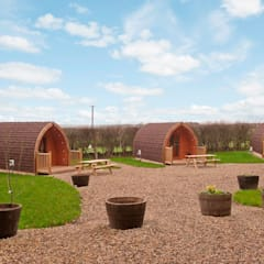 Camping pods turn unused land into glamping goldmines :  Hotels by Timeless Timber