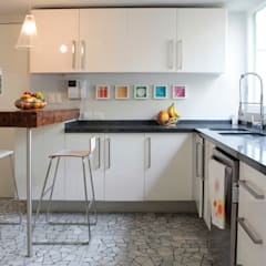 آشپزخانه توسطDF ARQUITECTOS, مدرن