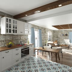 Kitchen by ROAS ARCHITECTURE 3D DESIGN AGENCY