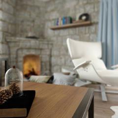 ROAS ARCHITECTURE 3D DESIGN – Living Space:  tarz Oturma Odası