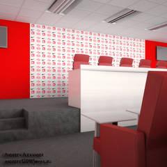Пресс центр на стадионе: Конференц-центры в . Автор – Андреев Александр,