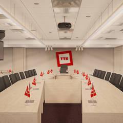 Комната переговоров: Офисные помещения в . Автор – Андреев Александр, Классический