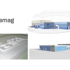 Garage AMAG: Concessions automobiles de style  par Groupe H