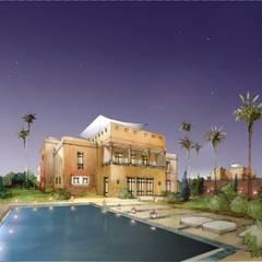 Complexe résidentiel de vacances à Marrakech: Hôtels de style  par Groupe H