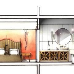Plans Complexe résidentiel de vacances à Marrakech: Hôtels de style  par Groupe H