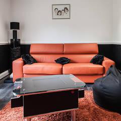 غرفة الميديا تنفيذ Nic  Antony Architects Ltd
