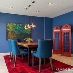 Modern dining room by MARIANGEL COGHLAN Modern