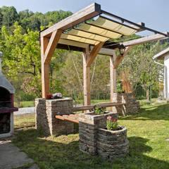 Progetto Giardino: Giardino in stile  di Federico Vota design