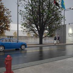 EMBASSY OF THE UAE / ASTANA: Конференц-центры в . Автор – Lenz Architects