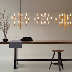 Chandeliers / Manola:  Dining room by Herstal A/S