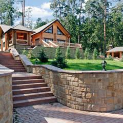 Blockhaus Pinus:  Blockhaus von Woody-Holzhaus - Kontio