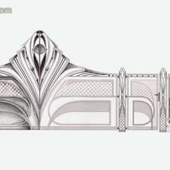 Projekt wyątkowej bramy/ogrodzenia.: styl , w kategorii Ogród zaprojektowany przez TORA bramy i ogrodzenia