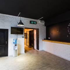 Танцевальная студия в Днепропетровске 380 м2: Школы и учебные заведения  в . Автор – NK design studio