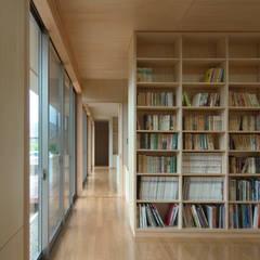 Media room by 長谷雄聖建築設計事務所, Modern