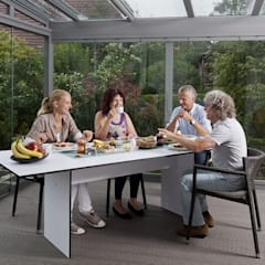 Terrassendach aus Glas:  Terrasse von MR Gruppe