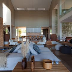Living room by Beth Nejm, Country