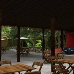 Reforma Seu Bar:  Bars & clubs by Luiza Pacheco Arquitetura