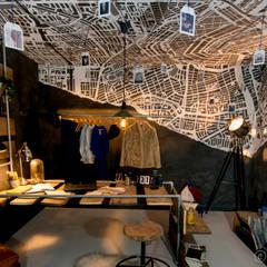 Examenproject 2015: Top 2000 nummers vertaald naar prachtige interieurconcepten: minimalistische Studeerkamer/kantoor door Nimeto Utrecht